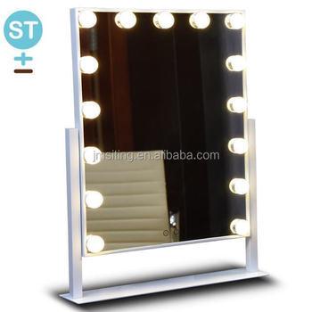 Vanity Girl Hollywood Infinity Mirror Lighted 15 Bulb Vanity