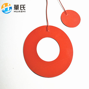 flexible heater round silicone heater