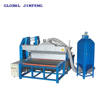 JFDS 2000 Horizontal automatic toughed glass sandblasting frosting machine with blade