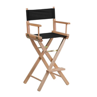 Portable Desk Makeup Wood Artist Directors Chair