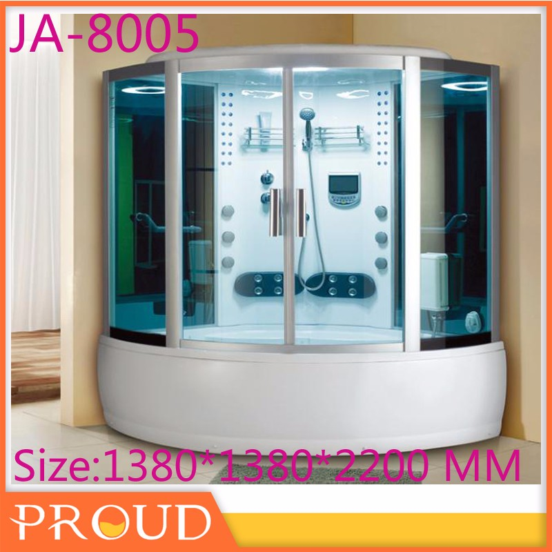 The Modern Style Luxury Home Use Whirlpool Bathtub Bottom Steam Room With Massage Jets