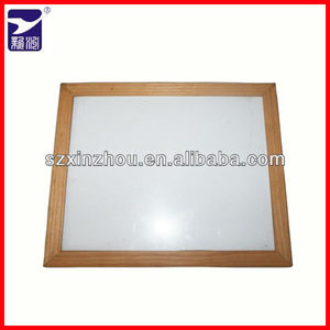 wooden frame white writing board/notice board