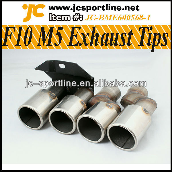 F10 M5 Muffler Pipe Car Exhaust Tips for BMW F10 M5