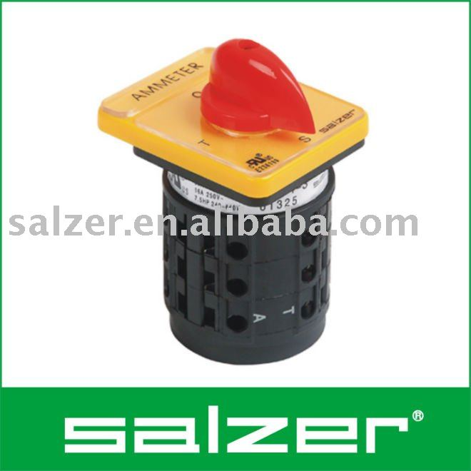 Salzer AC Universal Switch UL File No sa16 a b, sa16 a b suppliers and manufacturers at alibaba com salzer ammeter selector switch wiring diagram at fashall.co