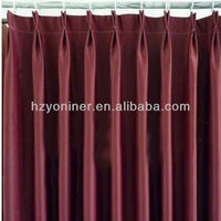 wholesale kinds of hotel quality blackout window curtain