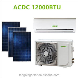 12000BTU ACDC Hybrid Air Conditioner Solar 95% energy saving