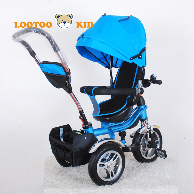 Trade Assurance hot sell baby tricycle with three wheels and pedals child plastic tricycle