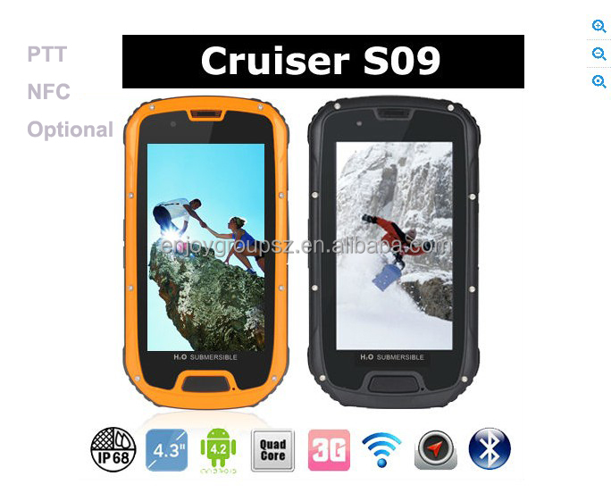 4.2inch dual sim Outdoor multifunctional mobile phone Rugged Outdoor Moible