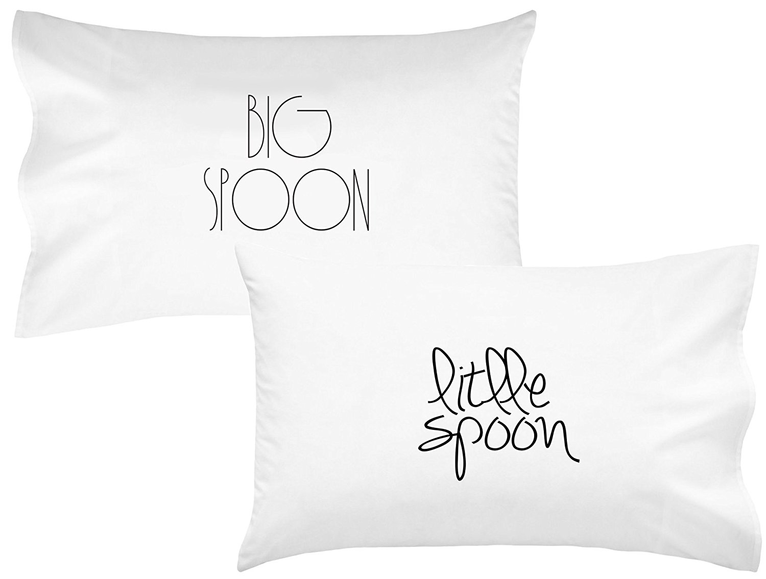 Buy Oh Susannah Big Spoon Little Spoon V1 Couples Pillowcases
