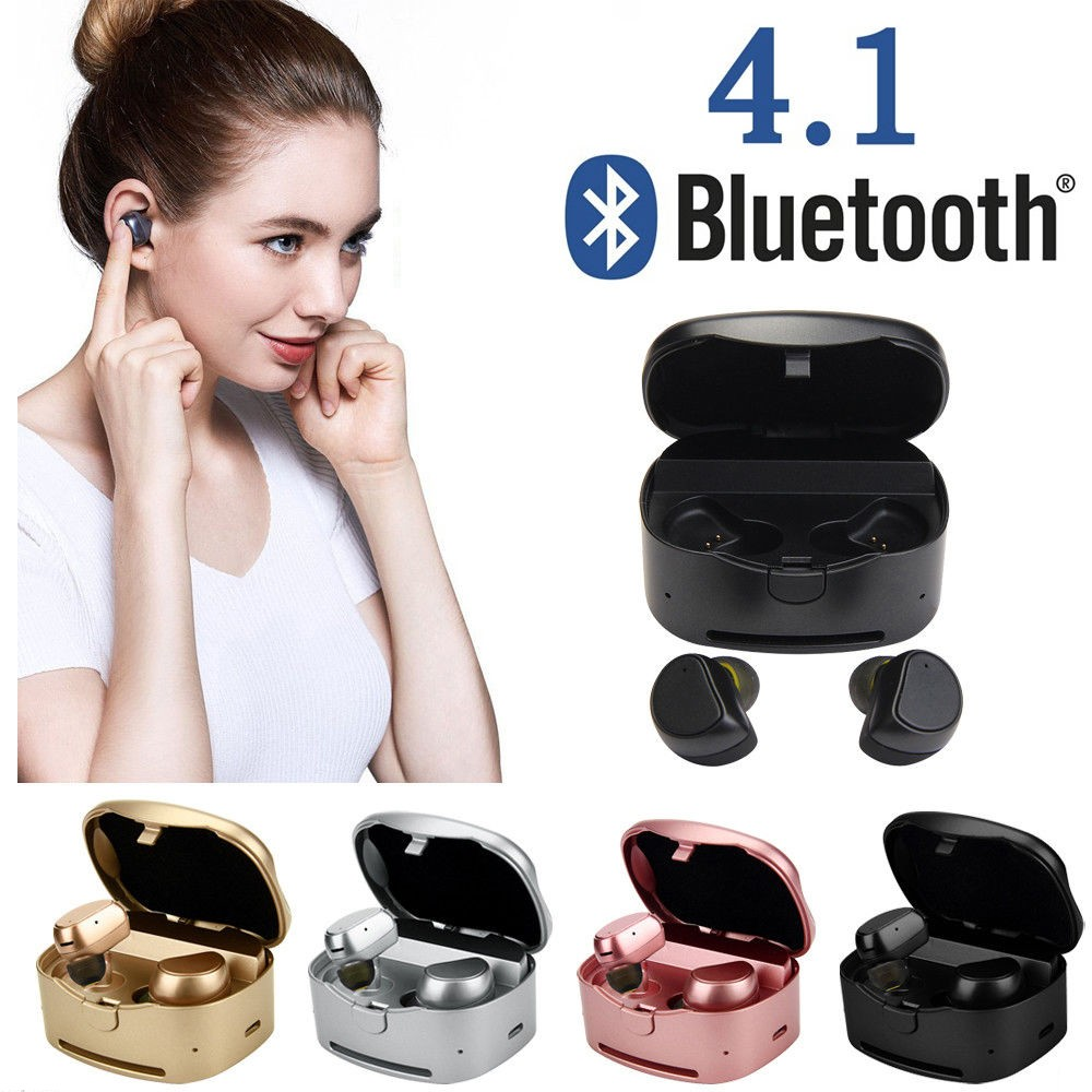 Fashion Colorful Noise Cancelling Handsfree Mini TWS Wireless Bluetooth Earphone