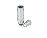 KZAF series Push and Pull Type Steel Hydraulic Quick Couplings