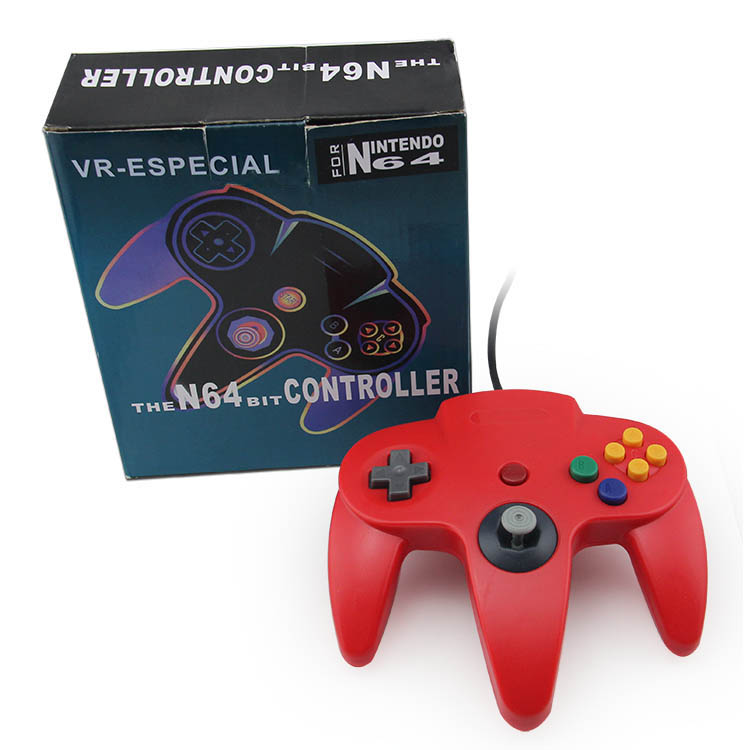 Wired USB Game Controller For N64 Gamepad Joypad Gaming Joystick