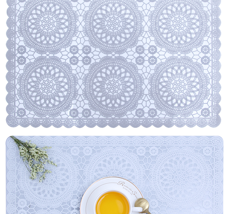 2018 new design Eco-friendly custom placemats