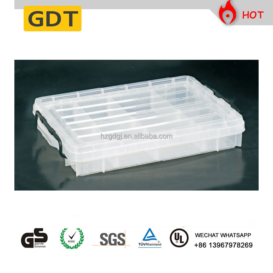 GD5089 Multi compartments clear bait and lure fishing tool box