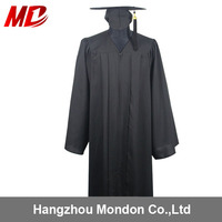 Wholesale bulk sell black Graduation Gowns all age size From Kindergarten To University