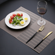 2018 high quality heat resistant pvc dining table mat