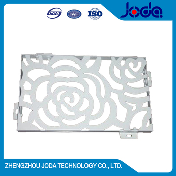 Laser Cutting Decoratiion Aluminum Carved Panel