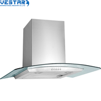 European style wall mounted cooking stove range hood
