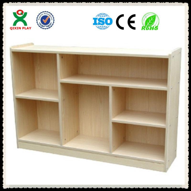 2013 Preschool Furniture Multifunctional Wooden Kids Storage Cabinet