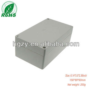 plastic enclosure for electronic electricity saving box