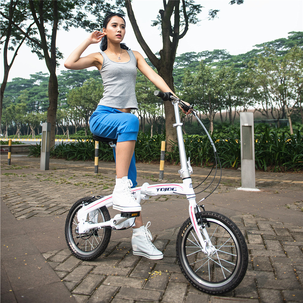 TDJDC 16/ 20 inch no chain <strong>bike</strong> folding urban <strong>bike</strong> electric bicycle cheap k-rock small wheel