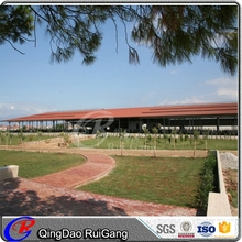 economic and practical prefab steel structure pig farming poultry house