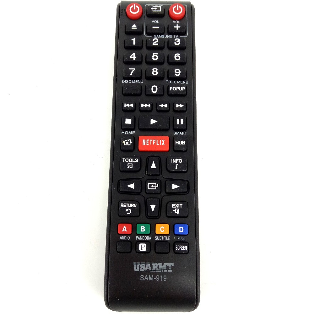 Wholesale- New SMART HUB Remote control SAM-919 Universal For SAMSUNG TV  99% MODELS With NETFLIX 00055D 00012H AK59-00125A AH59-02131F