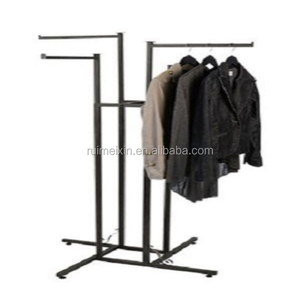 Clothes Rack 4 Straight Arms Clothing Garment Retail Display 72""