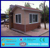 Steel structure prefab security container house moveable toll booth / house for sale