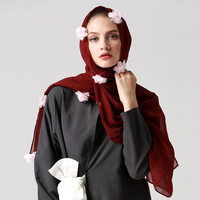 Zakiyyah 101 Hot Sale Sexy Muslim Scarf Hijab Dresses For Women