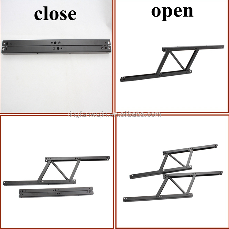 E Saving Design Hardware Coffee Table Lift Hinge Top Mechanism
