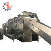 Celery/Diced Onions/Potato Strips Continous Seaweed Mesh Conveyor Belt Dryer/Drying Machine