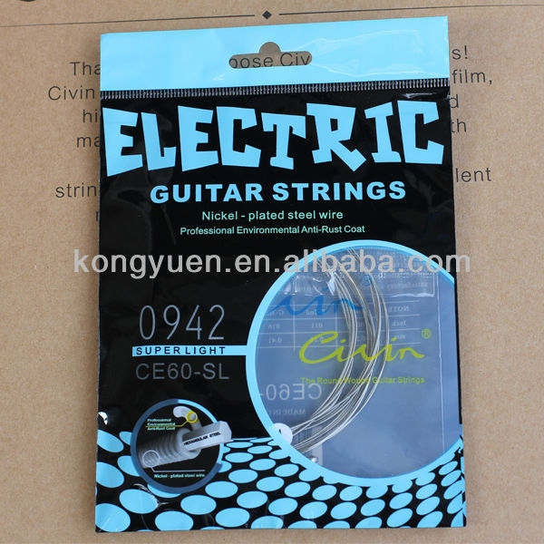 Civin electric guitar strings,custom guitar pick