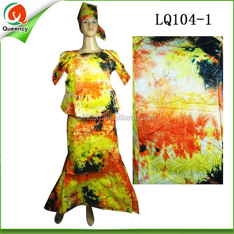 7d188f7cf Mujeres Boubou Bazin riche vestidos ropa Ankara vestido en Guangzhou