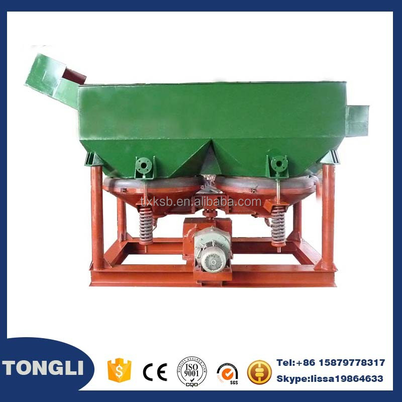 Mineral concentration small automatic electric jigging machine selecting gold, copper