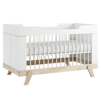 Baby furniture color customized safety wooden baby bed price