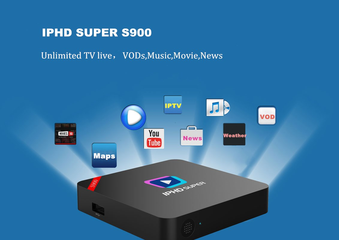 Stalker H.265 IPTV Box with 2800 + Europe Arabic HD 12 Months IPTV Subscription linux iptv