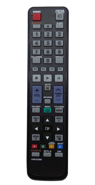 VINABTY New AH59-02298A Replaced Remote fit for Samsung Blu-ray HTC5500 HTC5500/NWT HTC5500/SAH HTC5500/XAA HTC5500/XAC HTC5500/XAO HTC5500/XAX HTC5500/XAZ HTC5500/XCH HTC5500/XER DVD Home Theater