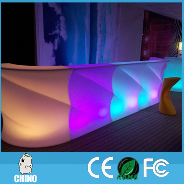 Fast delivery Lighting furniture Led bar counter and table