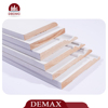 White Coated MDF Skirting Good Quality MDF Moulding Baseboard