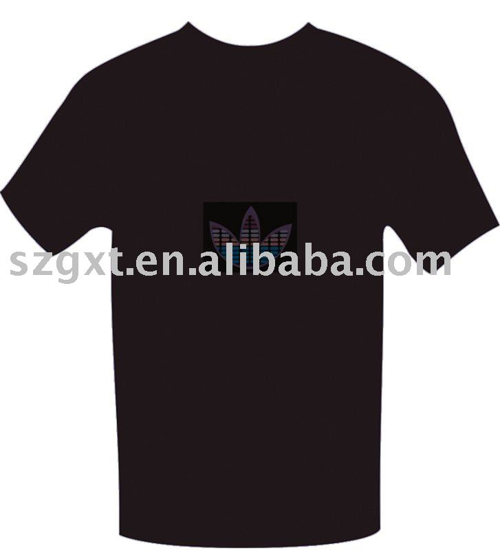 ELectro luminescence equalizer T-shirt,