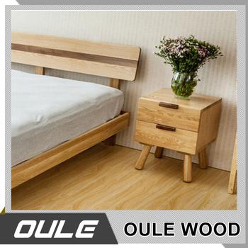 Japanese Wood Storage Cabinet Simple Design Nightstand Wooden