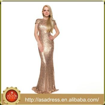 f310518afad73cd BD81New Прибытие Элегантный Высокий воротник женские вечерние платья с  блестками русалка невесты платья золотого цвета