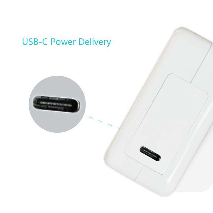 Fast Charge Mobile Phone/ Laptop Charger 30W USB C Wall Charger Power Delivery for iPhoneX,8,8plus,for Macbook