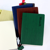 Wholesale Custom Made A5 A6 Soft Cover PU Leather Diary With Tag Cheap Notebook Printing For School And Promotion