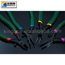 Teflon Finish Jeweller Pliers with Colorful Handles