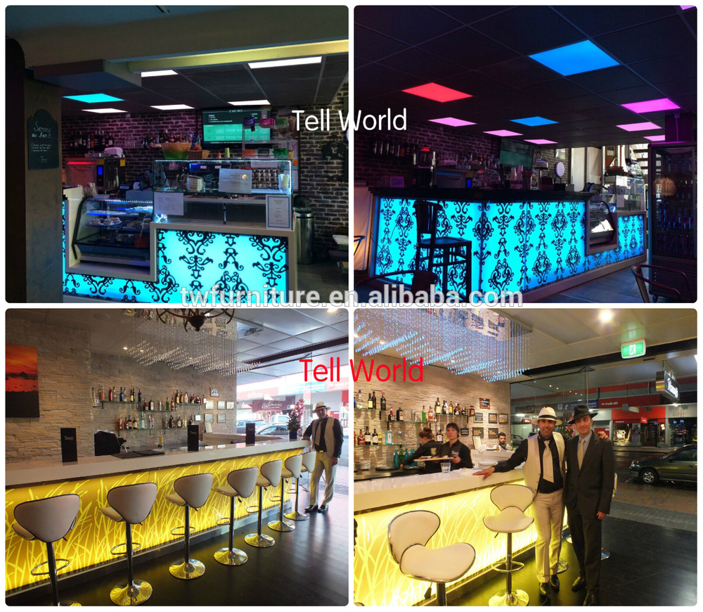 Personalizado Led Night Club Bar Muebles De Alta Cocina Barra  # Muebles Para Night Club