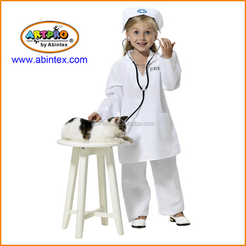 Nurse costume (07-004) for girl's roll play designed by Abintex with ARTPRO brand