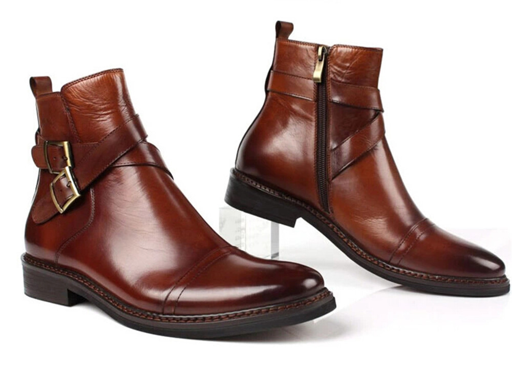 Find brown leather ankle boots for men at ShopStyle. Shop the latest collection of brown leather ankle boots for men from the most popular stores -.