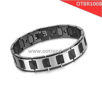 New Arrivals Men Bracelet, Black and white bracelet for men